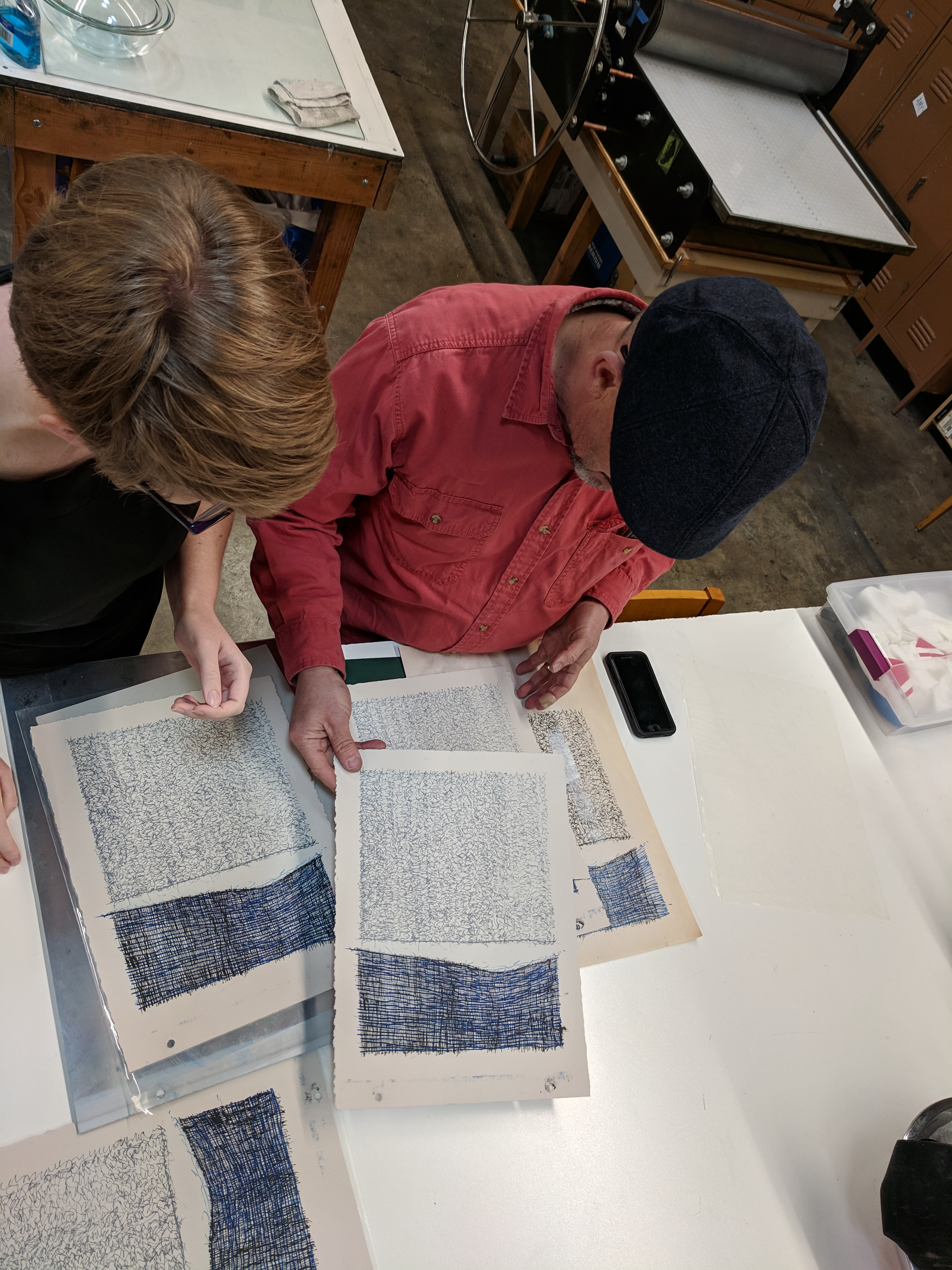 Saltgrass Printmakers – A non-profit printmaking studio and